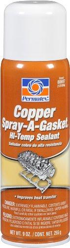 Permatex 80697 Copper Spray-A-Gasket Hi-Temp Adhesive Sealant