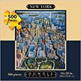 New York City: Jigsaw Puzzle, 500 pieces
