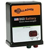 Gallagher G351504 B60 Electric Fence Charger-B60 12V BATTERY