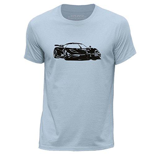 stuff4-mens-x-small-xs-sky-blue-round-neck-t-shirt-stencil-car-art-k-one