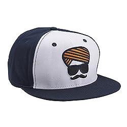 Urban Monkey Unisex Turban White, Blue Cap (Free Size)