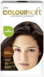 Godrej Coloursoft Hair Colour, Light Brown 80ml+24g