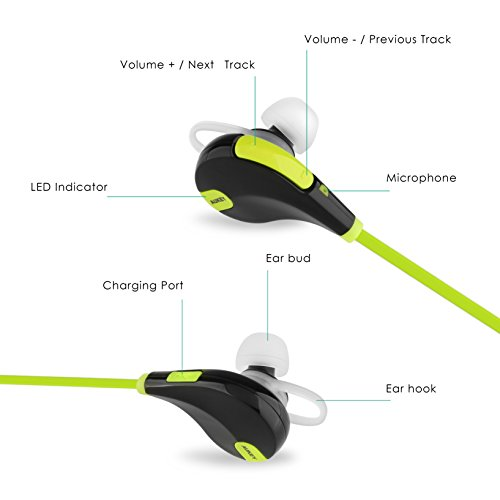 Image result for jogger bluetooth headset