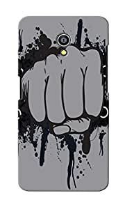 CimaCase Punch Designer 3D Printed Case Cover For Micromax Canvas Fire 4G Q411