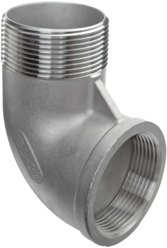 Pack of 1 Stainless Steel 304 Cast Pipe Fitting Class 150 Coupling 1//4NPT Female