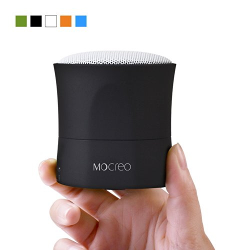 Mocreo® Portable Bluetooth Speaker - Wireless,Mobile,Mini,Rechargeable W/ Hands-Free & 6Hrs Wireless Play & 30Ft Bluetooth Range Woking For Any Bluetooth Enabled Devices: Iphone 5S/5C/4S;Samsung Galaxy S5/S4/S3,Samsung Note 2;Htc,Ipad Air/5;Ipad Mini Reti