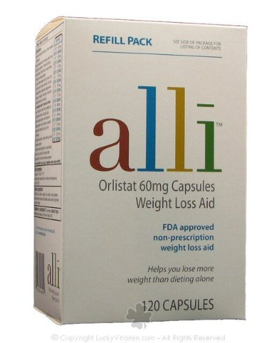 Alli Weight Loss Review &#8211; Diet Pill Orlistat 60mg Capsules