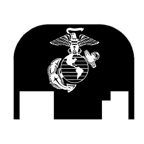 Fixxxer United States Marine Corps, Cover Plate fits most Glocks (Glock) (Glock Slide Plate Cover compare prices)