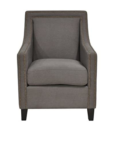 Tottenham Court Deshi Club Chair, Grey