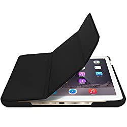 Macally Slim Foldable Protective Case and Stand for iPad Mini 4 with Auto On/Off (BStandM4B)