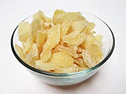 Crystallized Candied Ginger Slices, 1 pound