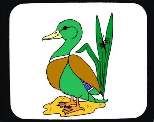 Mouse Pad with big, leaves, duck, mallard - Buy Mouse Pad with big, leaves, duck, mallard - Purchase Mouse Pad with big, leaves, duck, mallard (SHOPZEUS, Office Products, Categories, Office Supplies, Desk Accessories)
