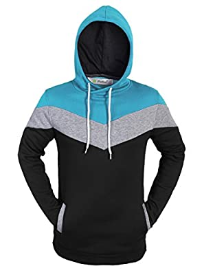 Partiss Mens Pullover Fleece Hoodies
