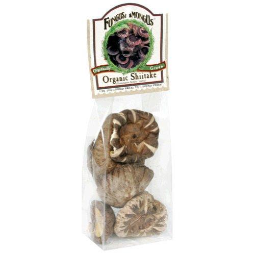Fungus Among Us Dried Organic Shiitake Mushroom, 1 Ounce -- 8 Per Case.