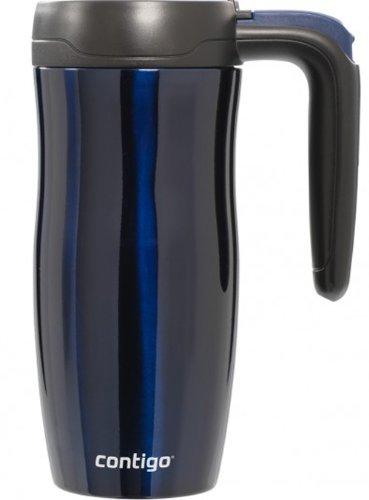 Contigo 16 Oz. Randolph Autoseal Stainless Travel Mug With Lock - Midnight Blue front-473450