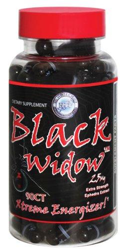 Hi-tech Pharmaceuticals Black Widow Capsules, 90-Count