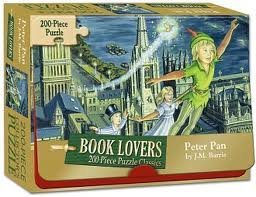 Peter Pan Book Lovers 200-pc Jigsaw Puzzle