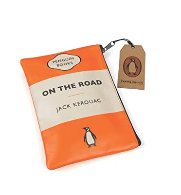 On the Road Orange Penguin Travel Pouch from Wild and Wolf
