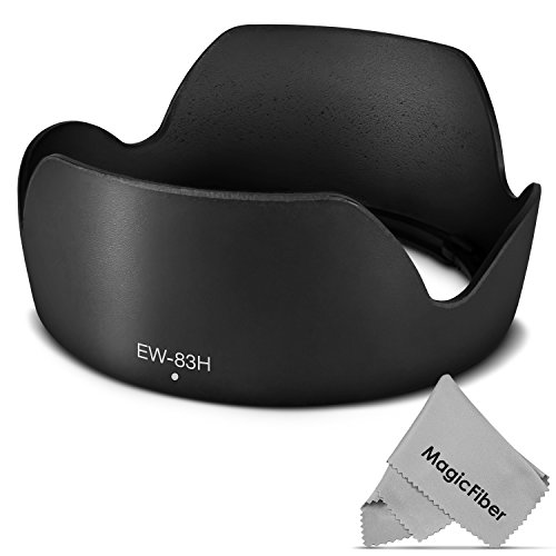 (Canon EW-83H Replacement) Altura Photo Lens Hood for Canon EF 24-105mm f/4L IS USM, EF 24-70mm f/4L IS USM Lenses (Canon 77mm Lens Hood compare prices)