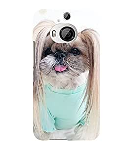 99Sublimation Cute Puppy 3D Hard Polycarbonate Back Case Cover for HTC One M9 Plus