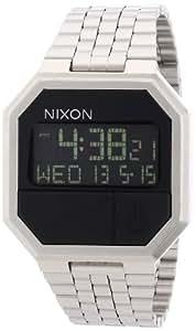 Nixon - A158000-00 - Montre Mixte - Quartz Digital - Alarme/Eclairage/Chronomètre - Bracelet Acier Inoxydable Argent