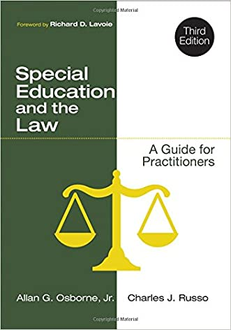 Special Education and the Law: A Guide for Practitioners written by Allan G. Osborne
