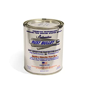 Rust Bullet RBA52 Automotive Rust Inhibitor Paint, 1 Pint