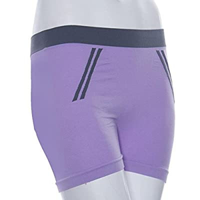 Voberry® Stretch Tight Yoga Running Sports Bike Exercise Shorts Underwear (Hot Pink)