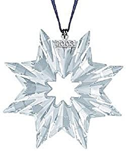 Swarovski 2003 Annual Christmas Snowflake / Star Ornament