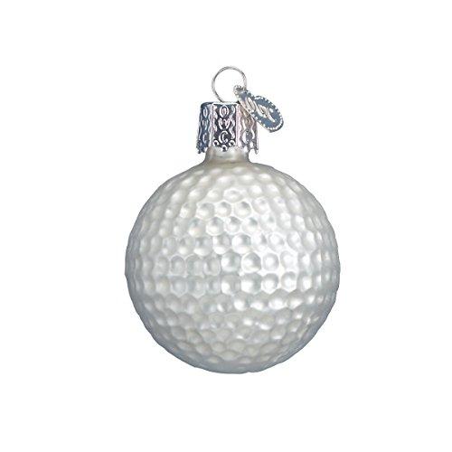 Old World Christmas Golf Ball Glass Blown Ornament
