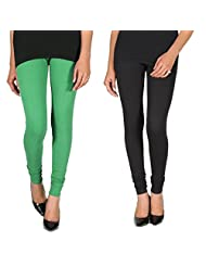 ALLY Of Focker Rounded Yoke Cotton 150% Stretchable Legging With Waist Tying Band - B011YPW6MO
