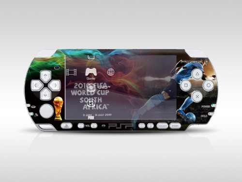 2010 FIFA World Cup for PSP Slim Dual Colored Skin Sticker PSP 2000