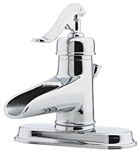 Price Pfister 042-YP0C Ashfield Single-Handle 4-Inch Centerset Lavatory Faucet with Pop-Up, Chrome