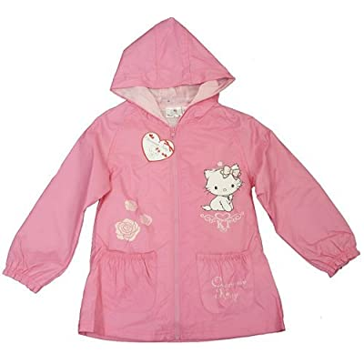 Kitty Girls Lined Wind-Proof Jacket