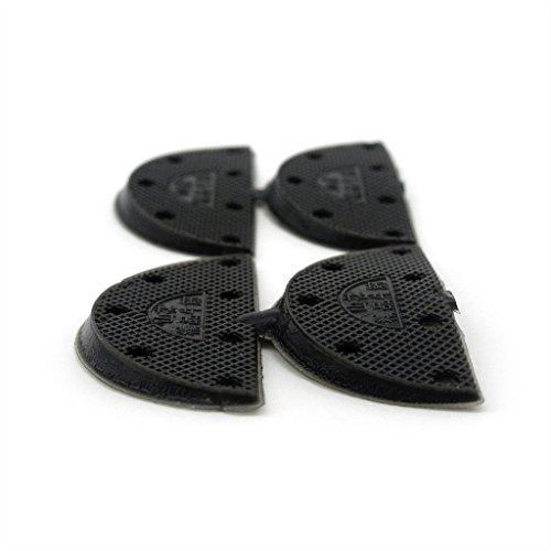tampons-chaussures-noires-ladies-semelles-en-caoutchouc-reparation-moyen-talon-2-paires