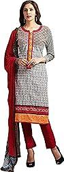 Sanvan Elegant Pure Cotton Printed Salwar Suit Dress Material
