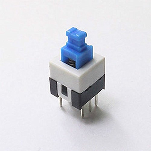 New Arrival!!! Limited Sale!!!10Pcs On/Off Push Switch 7 X 7 Mm Without Lock, Business