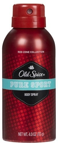 Old Spice Red Zone Collection Body Spray Pure Sport (Old Spice Pure Sport Body Spray compare prices)