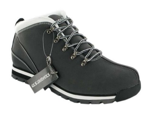 IMPRESSIONZ- Mens Ankle HI High Top Boots Boys Hiking Trekking Trail Trainers Shoes SIZE 6-11