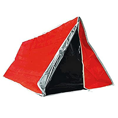 SE ET3683 Emergency Outdoor Tube Tent with Steel Tent Pegs by SE
