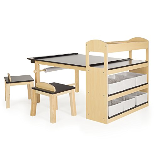 Toddlers\' and Kids\' Art Desks with Storage