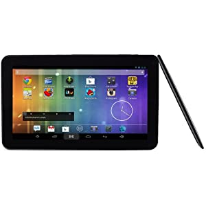 "Brand New 10.1"" Inch Dual Core Multi-Touch Capacitive 1.2 GHz Google Android 4.2.2 1GB MID Tablet PC 16GB NAND, HDMI, WiFi & Bluetooth, Flash 10.3 Player, Dual Camera, External 3G capability (UK Warranty) by Time2 from Time2"