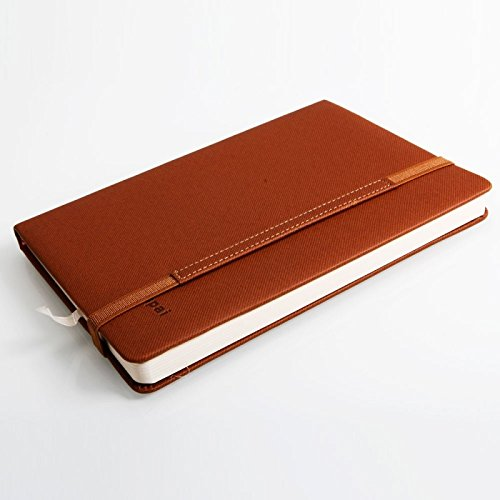 Great Value Desk Accessories Fashionable A5 120 Sheets Notebook Notepad Address Book Brown