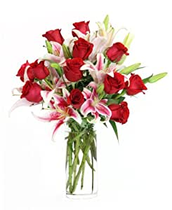 Amazon.com : The Lily & Rose Minuet Bouquet - The KaBloom