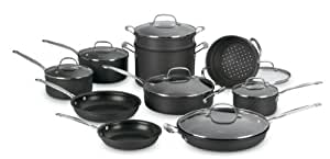 Cuisinart 66-17 Chef's Classic Nonstick Hard-Anodized 17-Piece