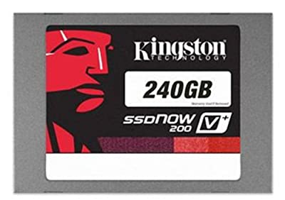Kingston Technology 2.5 inch 240GB 7mm V+200 SATA 3 Solid State Drive with Adapter