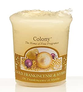 Wax Lyrical Colony Homescenter Votives Candle G/F/M by Wax Lyrical