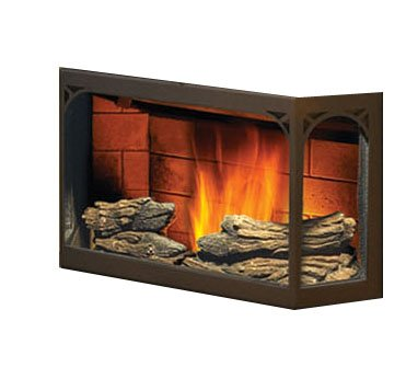 Napoleon npl41 decorative log set for nps45 or npi45 pellet stove or insert - Pellet stoves for small spaces set ...