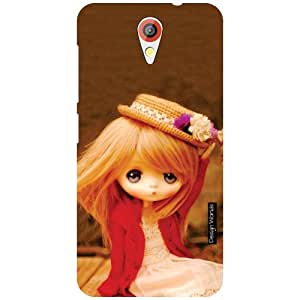 Design Worlds HTC Desire 620 Back Cover - Doll Designer Case and Covers