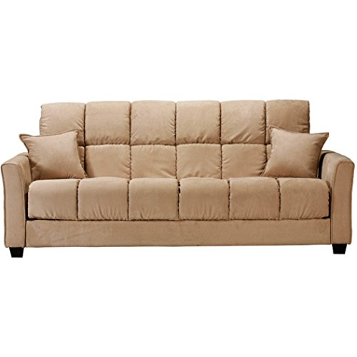 Baja Convert A Couch And Sofa Bed Multiple Colors Khaki Furniture Sofas Sofabeds